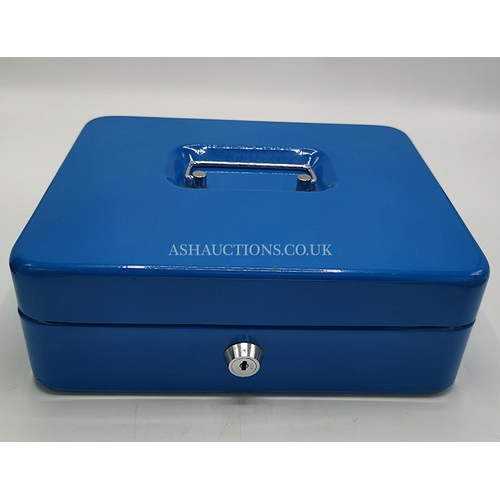 4 - METAL CASH BOX (Complete With International Tray And Key)...