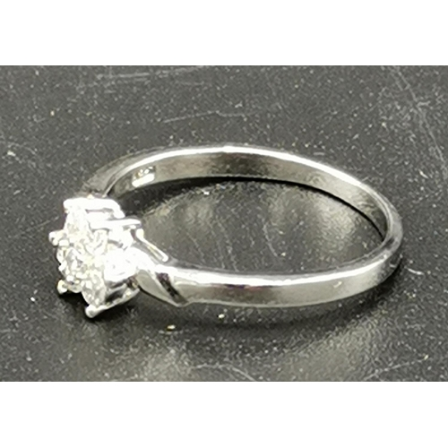 15 - PRESENTED AS A SILVER (925) RING (Size P/Q, Weight 2.1 Grams)...