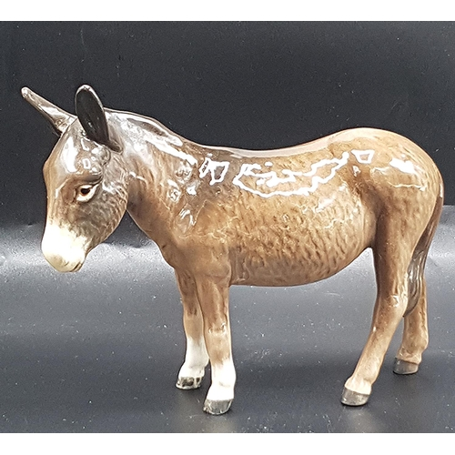 2 - BESWICK 11.9cm MODEL OF A DONKEY (Gloss Colourway) Model No 1364B (Second Version)  1955/2002 Design...