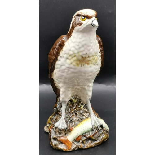 48 - ROYAL DOULTON 20cm DECANTER IN THE FORM OF A OSPREY Modelled By D Lyttleton 1977 (2nds)...