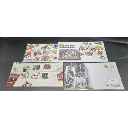 7 - FIRST DAY COVERS (4) & STAMPS