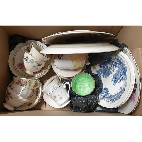18 - BOX CONTAINING A Qty Of CHINA ITEMS. (Please Note That This Lot WILL NOT BE PACKED OR SHIPPED ....PI...