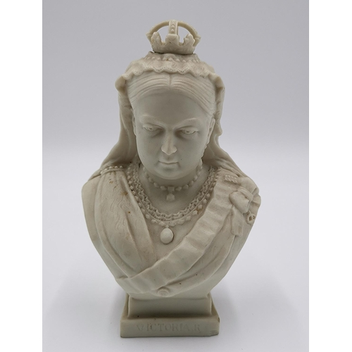687 - GOSS BUST OF QUEEN VICTORIA (Tiny Chip To Base)...