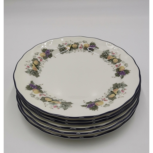 692 - ROYAL DOULTON CHINA SIDE SIDE PLATES (6) FROM THE MAJESTIC COLLECTION...