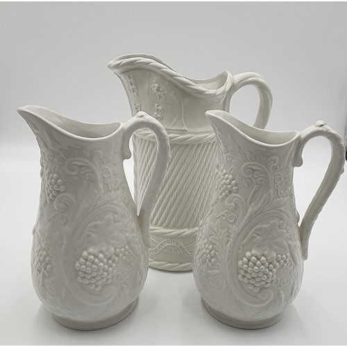 26 - PORTMEIRION 22.5 cm JUGS (2) Plus PORTMEIRION 27cm JUG. (Please Note This Lot Will NOT BE PACKED OR ...
