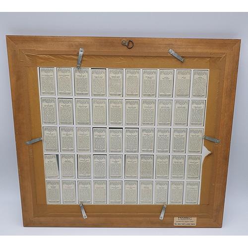 47 - FRAMED And GLAZED 56cm x 61cm JOHN PLAYER