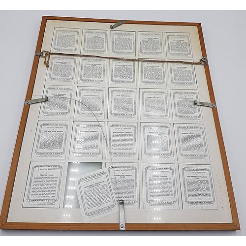 57 - FRAMED And GLAZED 40cm x 50cm JOHN PLAYER