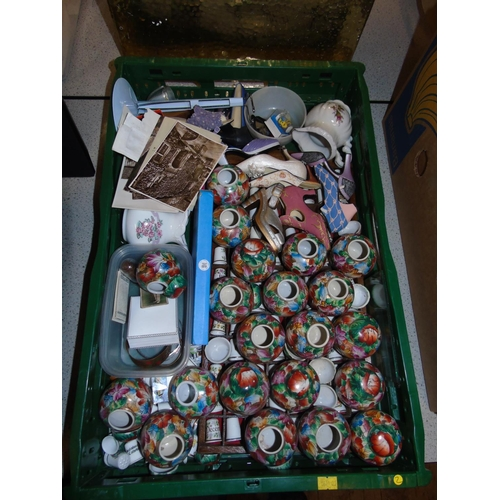 27 - A good box of collectables...