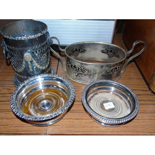 5 - A selection of quality silver plated ware...