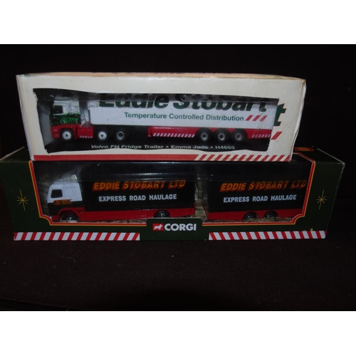 52 - One Corgi Eddie Stobart model (59516) & one Atlas model (H4463)...