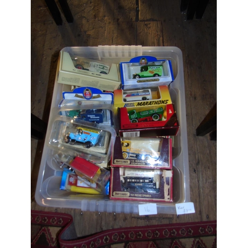 16 - A large selection of boxed die-cast models...