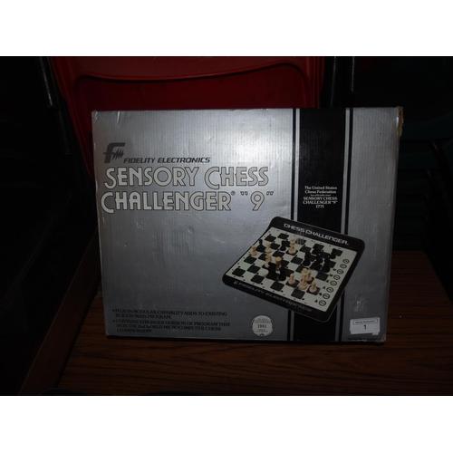 1 - A Fidelity Electronics sensory chess set...