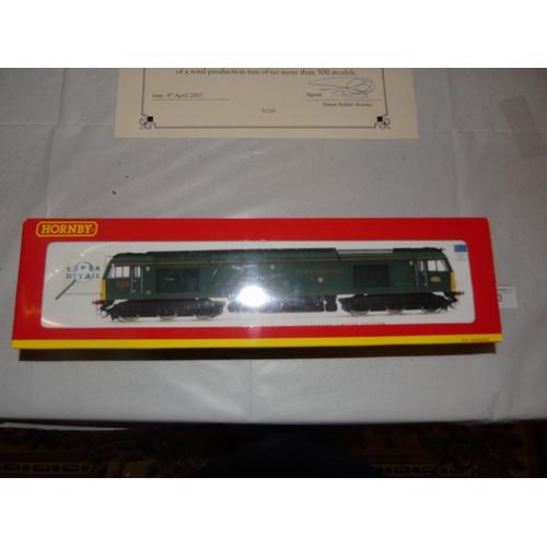 53 - A boxed Hornby R 2604 Isambard Kingdom Brunei limited edition locomotive....