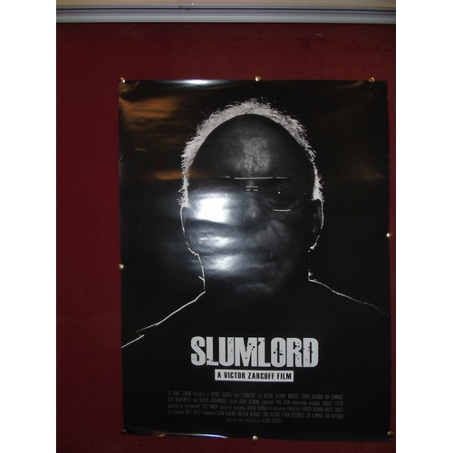 60 - An original 'Slum Lord' movie poster...