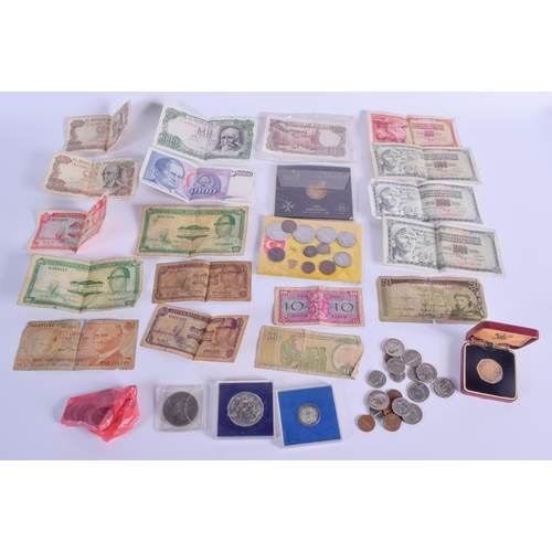759 - ASSORTED CURRENCY. (qty)...