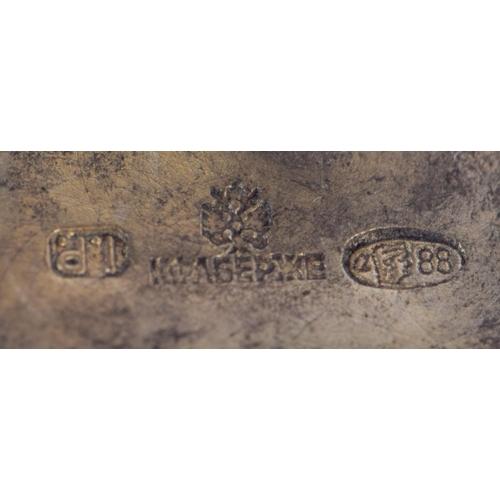 1177 - A PAIR OF CONTINENTAL SILVER GILT ENAMEL AND RUBY DOG CUFFLINKS. 29 grams. 2.5 cm x 1.5 cm....