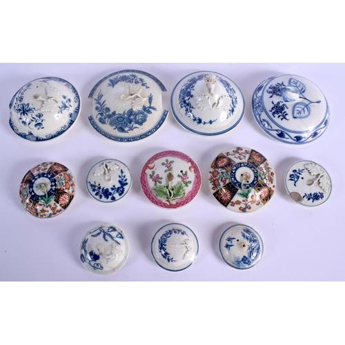 189 - English porcelain cover for teapots jugs etc....
