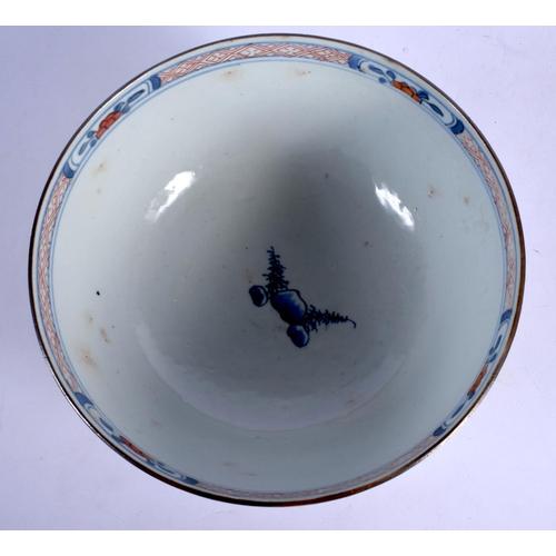 1899 - AN EARLY 18TH CENTURY CHINESE EXPORT IMARI BOWL Yongzheng/Qianlong. 18 cm diameter....