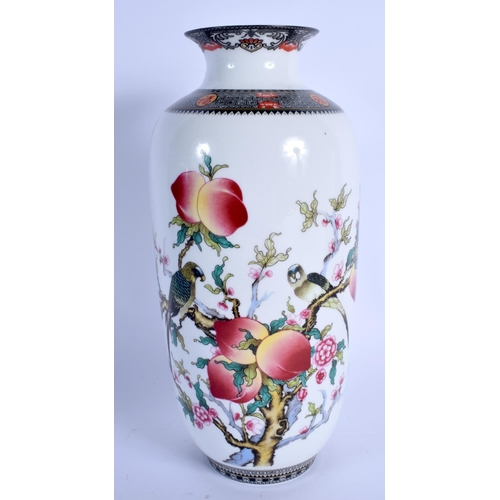 2057 - A CHINESE PORCELAIN VASE 20th Century. 25.5 cm high....