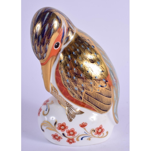 233 - Royal Crown Derby paperweight Kingfisher. 11cm high....