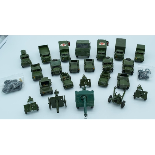 4000 - Collection of Vintage Dinky military models. (qty)...