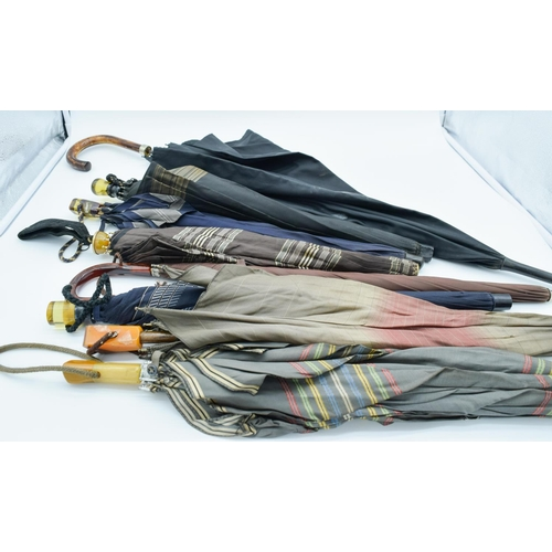 4029 - Collection of vintage umbrellas Largest 90 cm (8) ....
