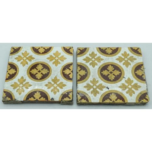 4062 - Two Victorian Tiles 15 x 15cm (2)....