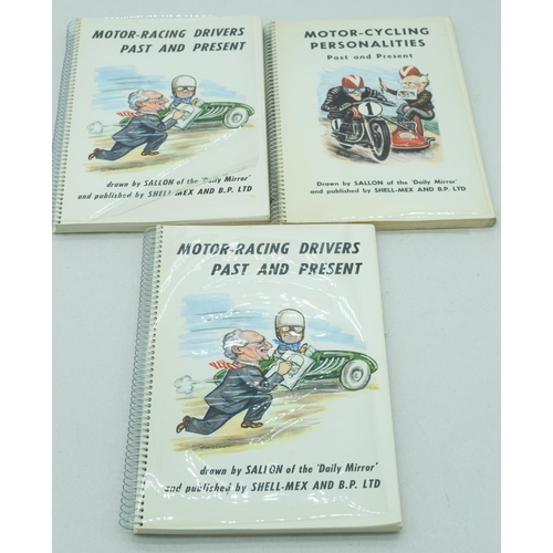 4097 - A set of books by Sallon of the Daily Mirror  motor racing related (3)....
