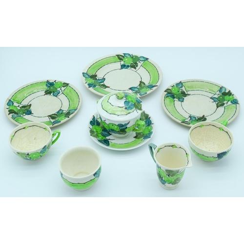 4100 - A part Mak merry tea set (10)....