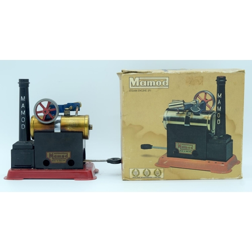 4383 - A vintage boxed Mamod model steam engine ....
