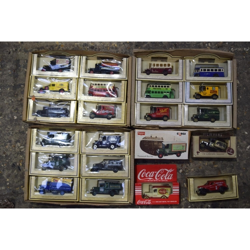 4386 - Collection of boxed  Die cast model vehicles including Corgi and Matchbox qty ....