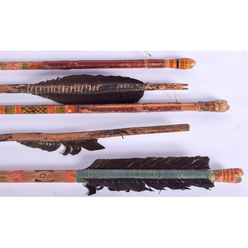 459 - ASSORTED VINTAGE TRIBAL ARROWS mainly Asian. Largest 80 cm long. (qty)...