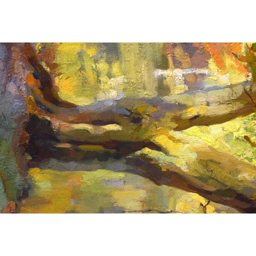 723 - Pamela Thalben-Ball (1927-2012) Australian, oil on canvas. Largest Image 91 cm x 74 cm....