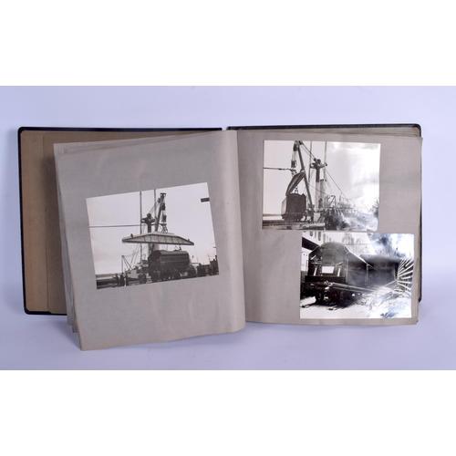 639 - A 1930S TOUR OF CORONATION SCOT USA PHOTOGRAPHIC TRAIN ALBUM. (qty)...