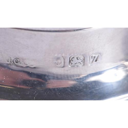 793 - A CASED ART DECO SILVER CRUET SET. Birmingham 1924. Silver 254 grams. (12)...