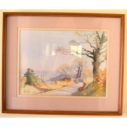 42 - Paul Banning (20th Century) Watercolour, Old Park Lane, Image 35 cm x 45 cm.