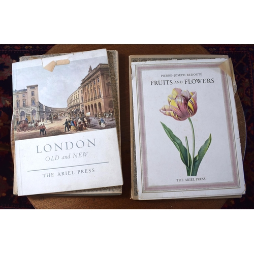 50 - A COLLECTION OF BOOKS OF PRINTS including Redoute Flowers. (qty)