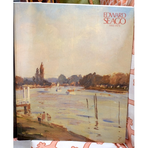 55 - A COLLECTION OF RICHARD GREEN AND EDWARD SEAGO CATALOGUES (1983-1990) (28)