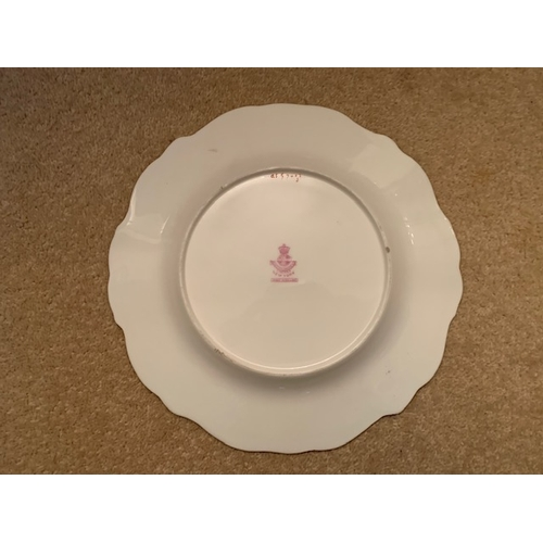 32 - One 23cm Mintons - retailed Davis Collamore & Co, New York - Cabinet Fish Plate - A.H.W. (1)