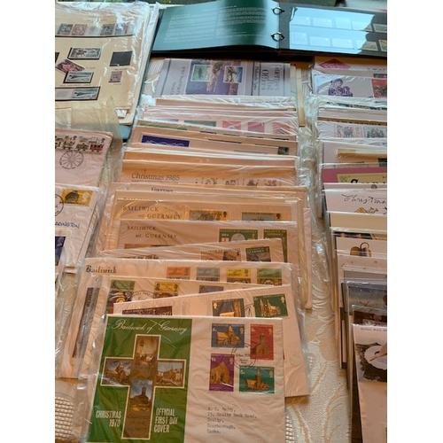 86 - Stamp Collection:- 56 Royal Mail Mint Stamp Sets (circa 1990-2000), 26 Royal Mail Millenium Stamp Se...