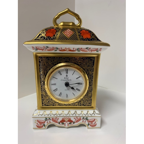 36 - Royal Crown Derby 'Old Imari' Clock 7
