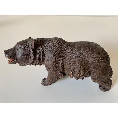 467 - Carved 'Black Forest style' wooden brown bear (slight ear damage) 9