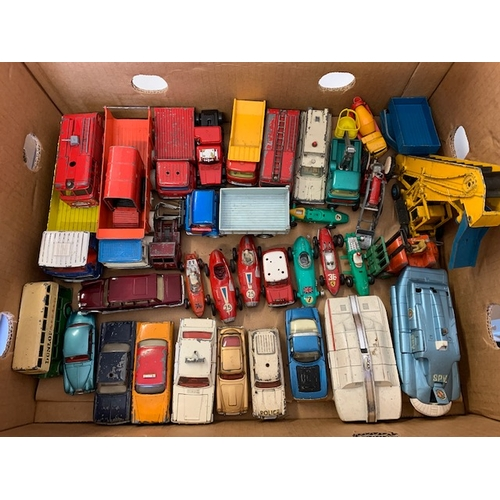 247 - Box Dinky & Corgi cars and vehicles
