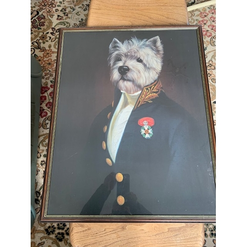 312 - 3 Framed prints: 'The Officers Mess' 30