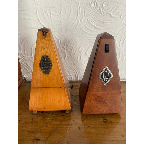 449 - Two metronomes - Metronome de Mawlzel, France and Wittner, Germany