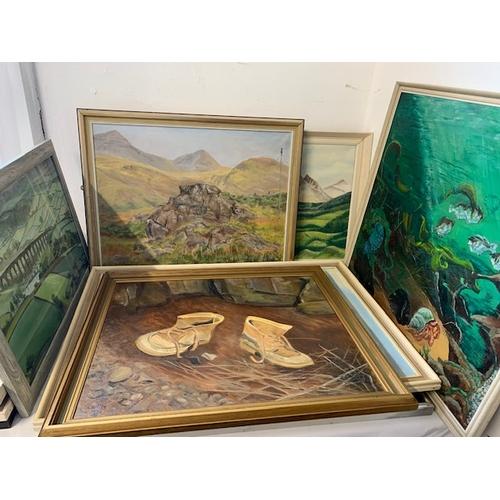 338 - 7 paintings, C Potter