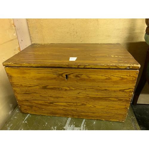 510 - Edwardian Small pine box - 20