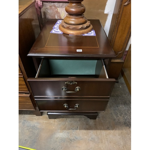 515 - Reproduction 2-drawer filing cabinet