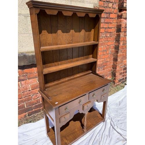 573 - Oak Welsh dresser 36
