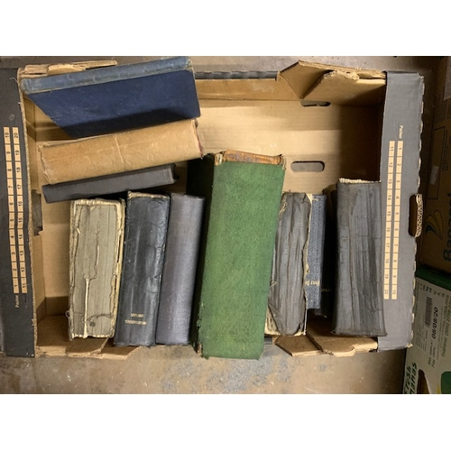 652 - Box of hymn books